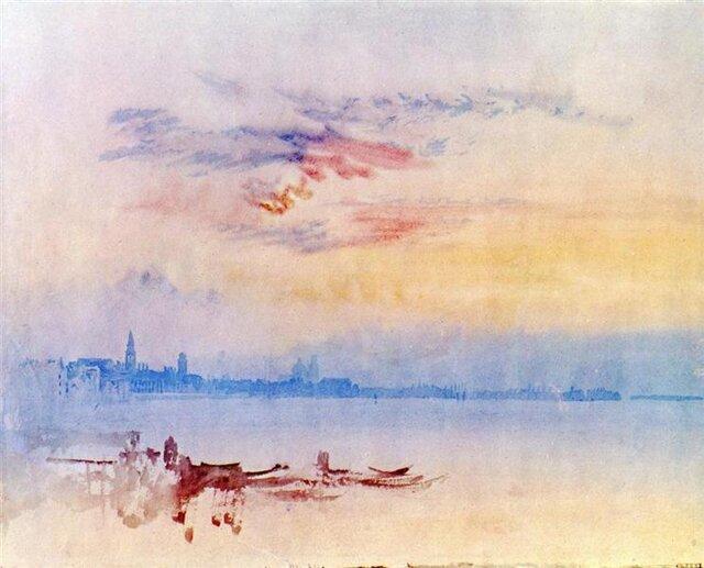 «طلوع» ۱۸۱۹ اثر «ویلیام ترنر»