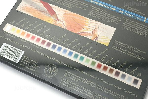 رنگ های فابر کاستل پلی کروم 24 رنگ