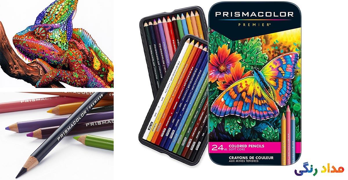 مداد رنگی پریسماکالر 24 رنگ